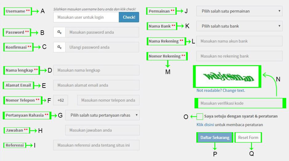 Panduan cara daftar SBOBET via Mabosbet 1