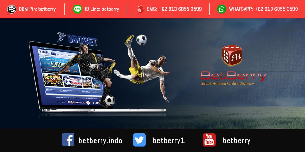 Hubungi agen Sbobet Betberry melalui BBM, Line dan lainnnya